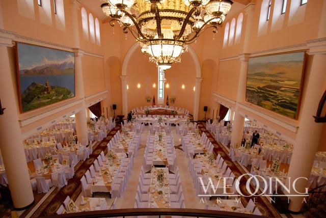 Свадьба в ресторане банкетном зале