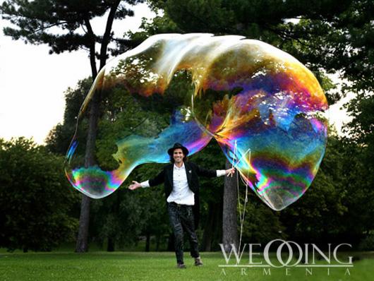 Bubble Show Wedding Armenia