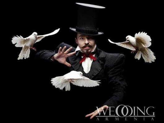 Wedding Armenia Illusionists magicians show-program animators