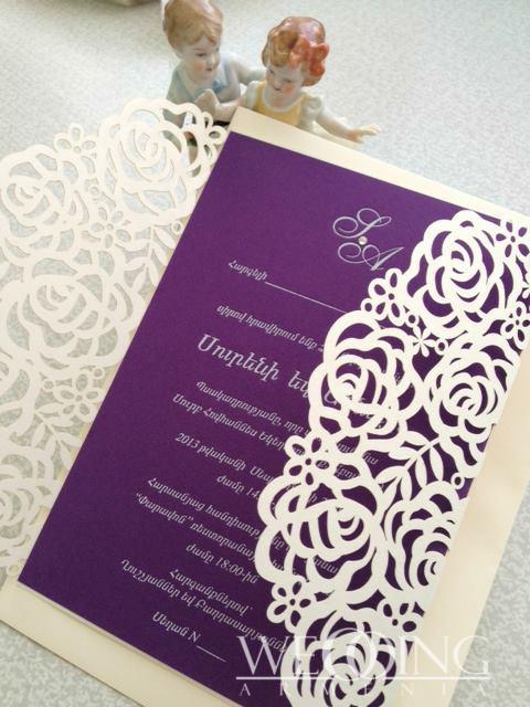 Свадебные приглашения в Армении