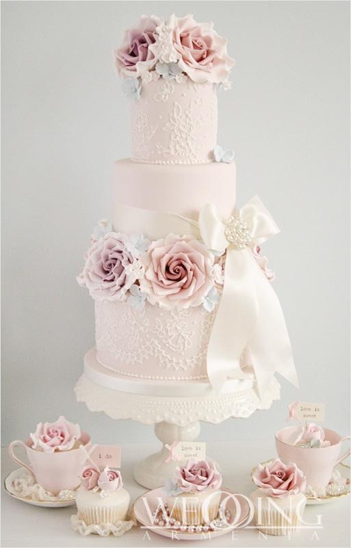 Most Beautiful Wedding Cakes in Armenia