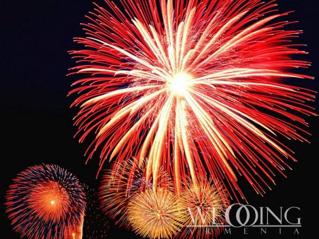 Phantom Fireworks in Armenia