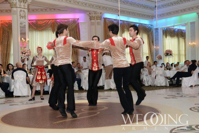 Show program for the wedding and celebration