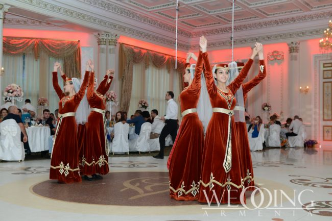 Shows and artists for the wedding in Armenia