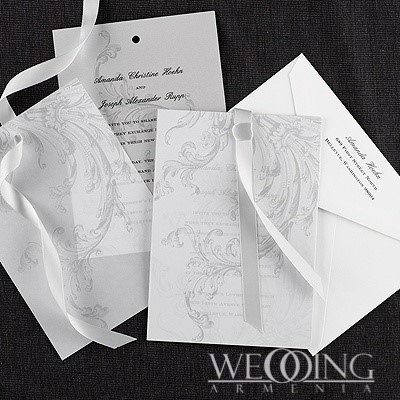 Elegant Wedding Invitation Cards in Armenia