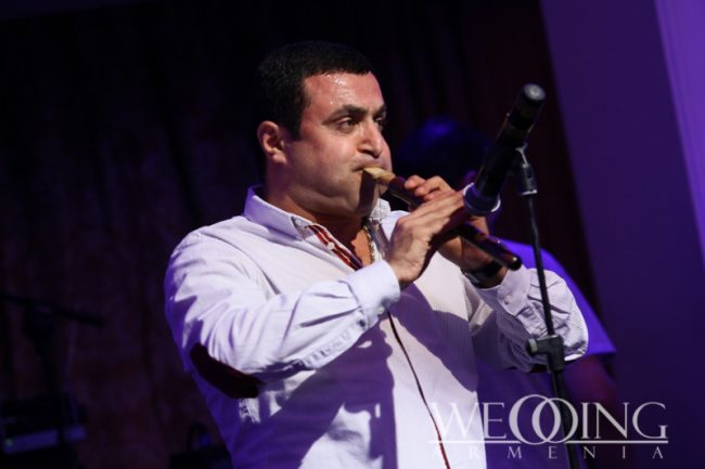 Shows and artists for the wedding Armenia