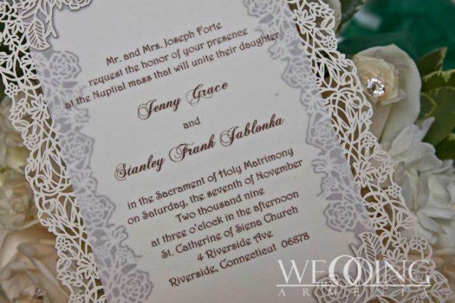 Creative Wedding Invitation Cards in Armenia