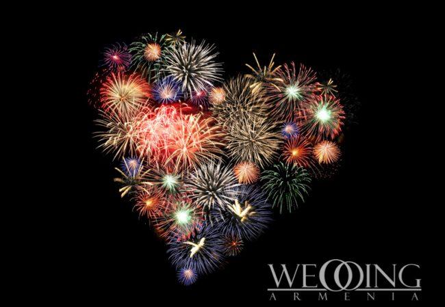 Fireworks Show in Armenia