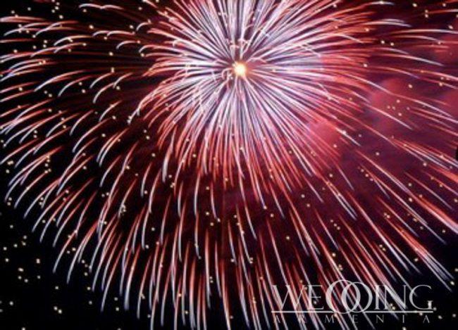 Wedding Armenia Fireworks Displays in Armenia