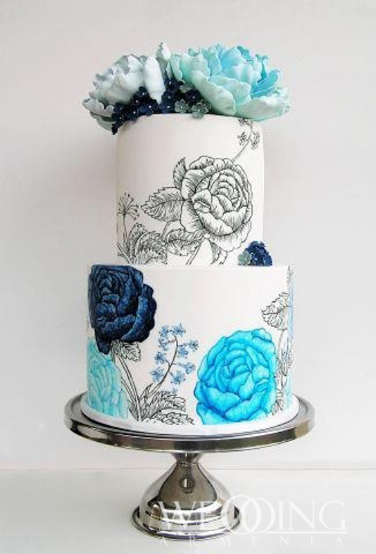 Wedding Armenia Most Beautiful Wedding Cakes in Armenia