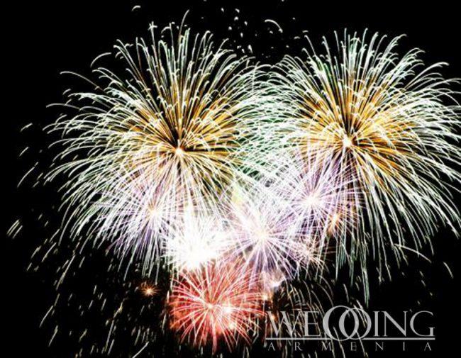 Wedding Armenia Best Fireworks Displays