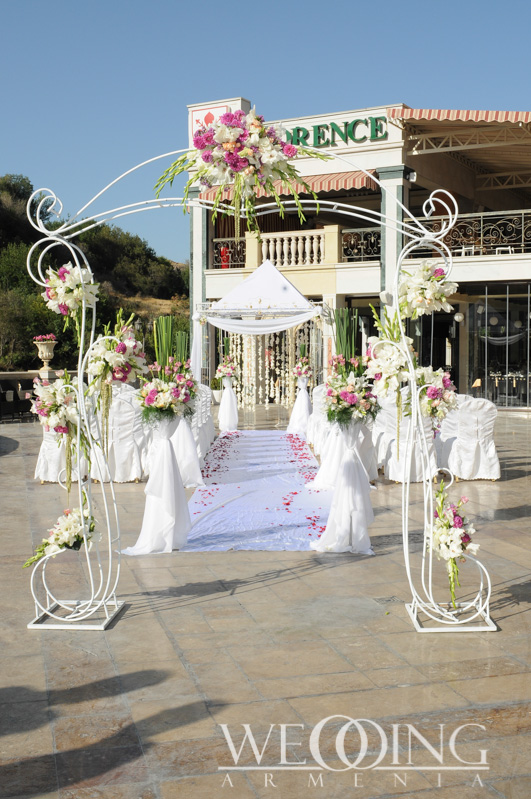 Wedding flowers decorations in Armenia