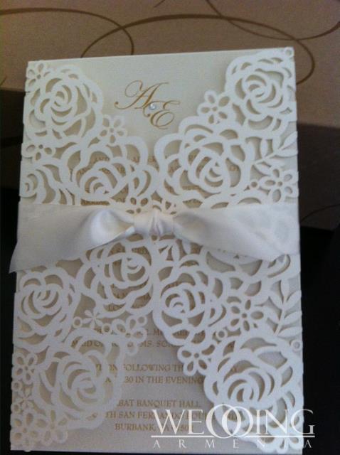 Հարսանեկան հրավիրատոմսերի դիզայն և տպագրություն Wedding Armenia