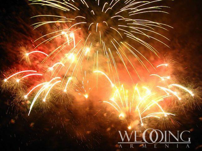 Wedding Fireworks & Effects Wedding Armenia