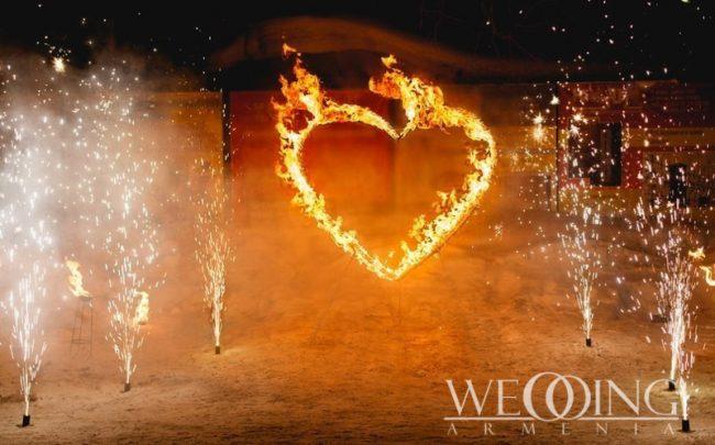 Wedding Armenia Fire show for wedding