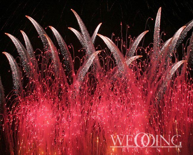 Wedding Armenia Special Effects Fireworks