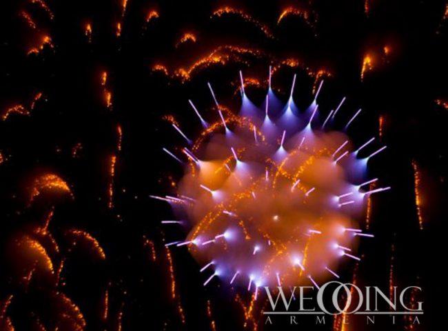 Wedding Armenia Phantom Fireworks