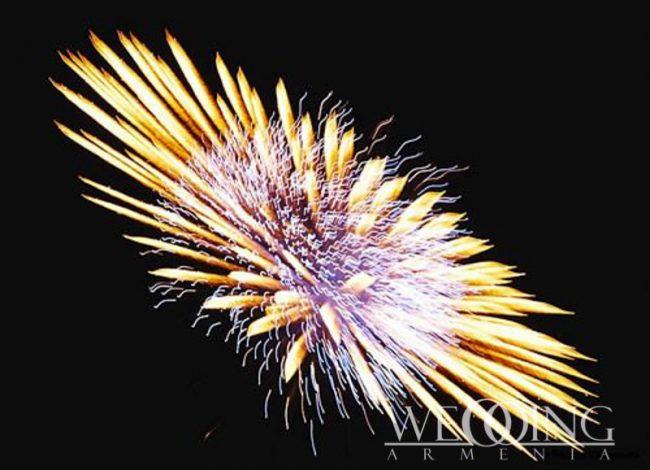 Fireworks in Armenia