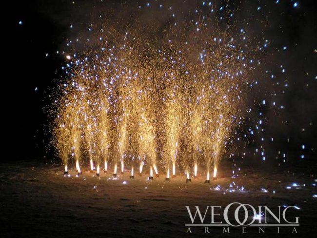 Wedding Armenia Wedding Firework Shows