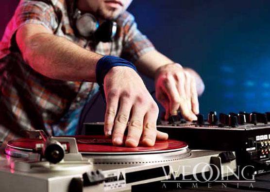 DJ-ներ հարսանիքին Wedding Armenia