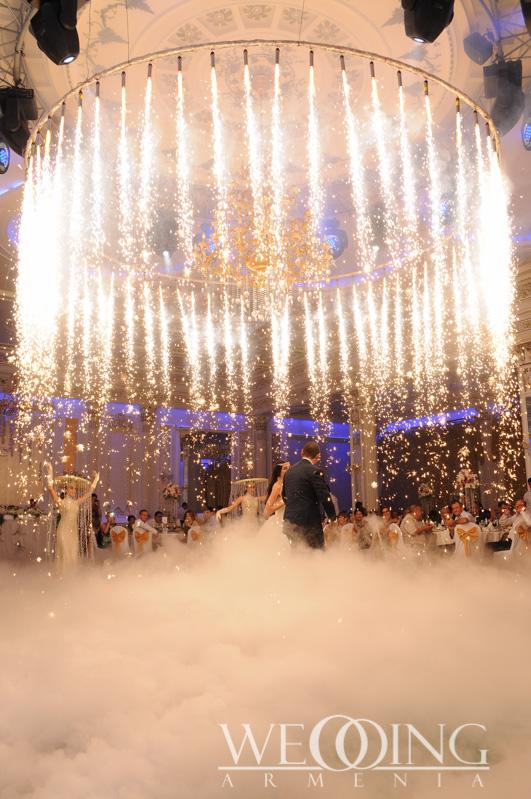 Bride and groom dance Wedding Armenia