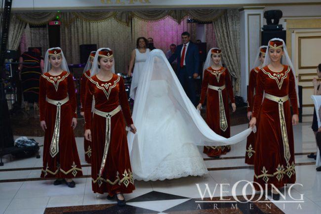 Wedding Armenia Հարսի պարի բեմադրում