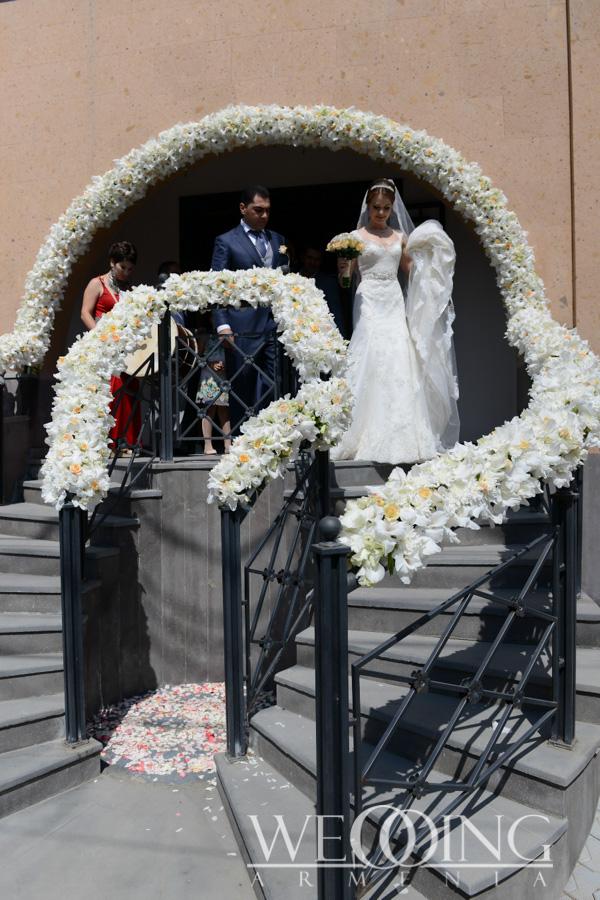 Цветочное оформление свадьбы в Армении Wedding Armenia