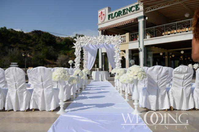 Цветочный декор свадьбы Wedding Armenia