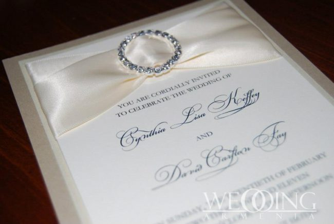 Пригласительный билет на свадьбу