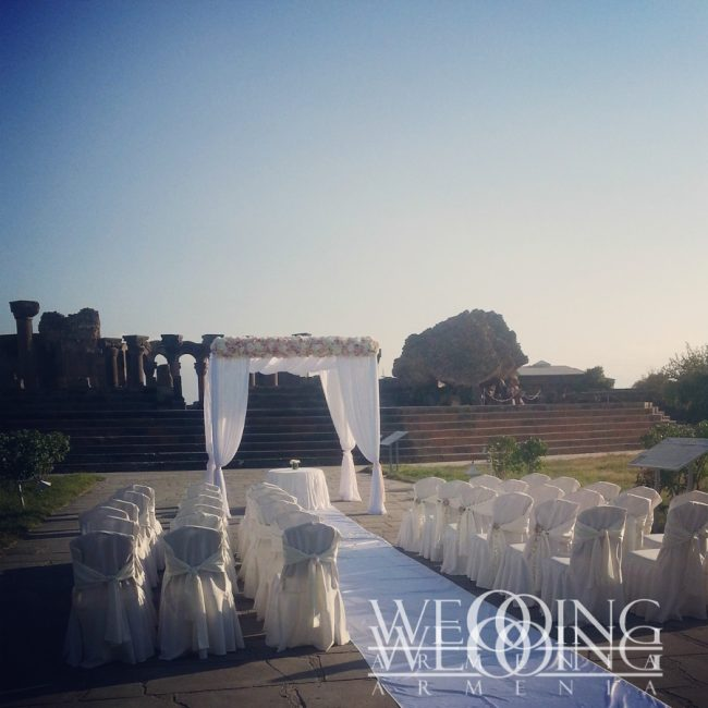 Декорация Wedding Armenia