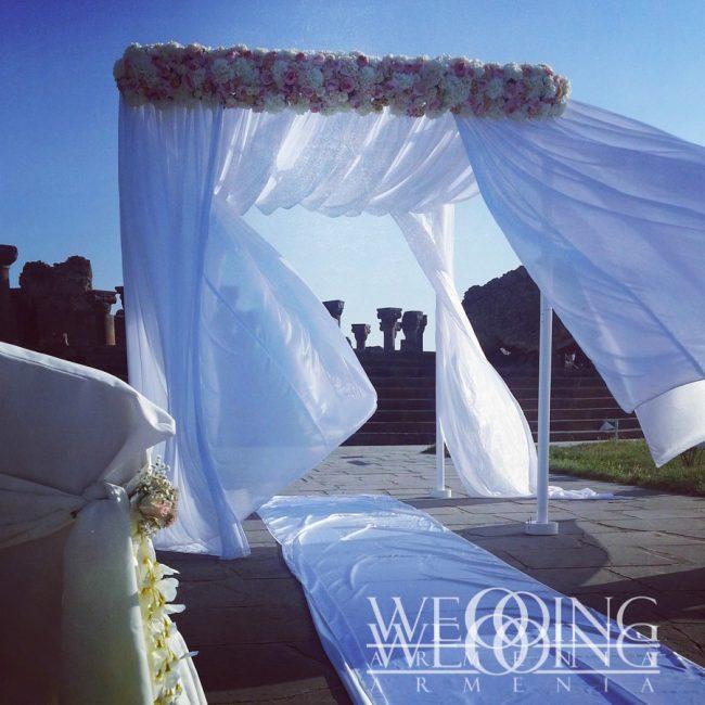 Wedding Armenia Հարսանեկան ծաղկային ձևավորում