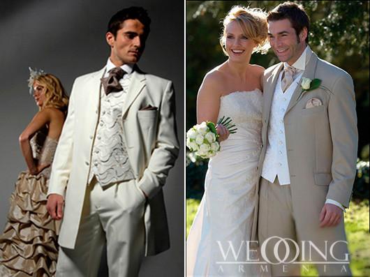 wedding armenia Փեսացուի Կոստյում և Երեկոյան Զգեստներ