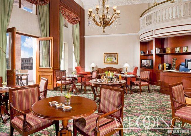 Банкетный зал для свадьбы Гостиницы Армения