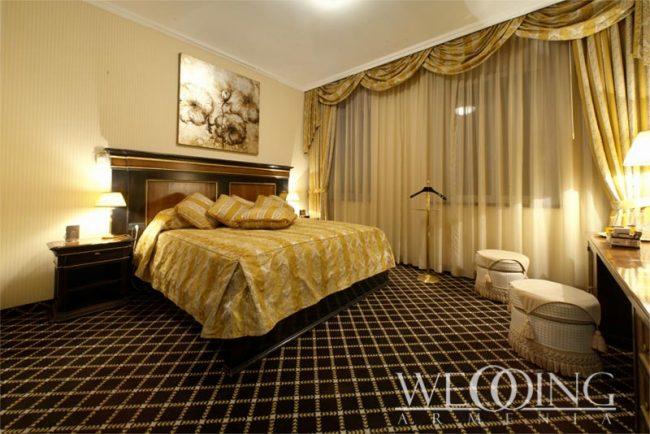Отели и Гостиницы Армении для сборов невесты и жениха