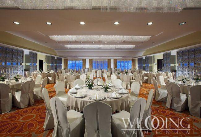 Банкетный зал для свадьбы Гостиницы Армения Wedding Armenia
