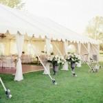 Свадьба «под открытым небом», банкет на открытой террасе