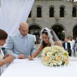 Andre and Nada's Bahai wedding ceremony in Armenia