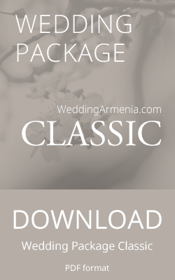 Wedding Package Classic by Wedding Armenia