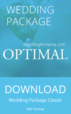 Wedding Package Optimal by Wedding Armenia