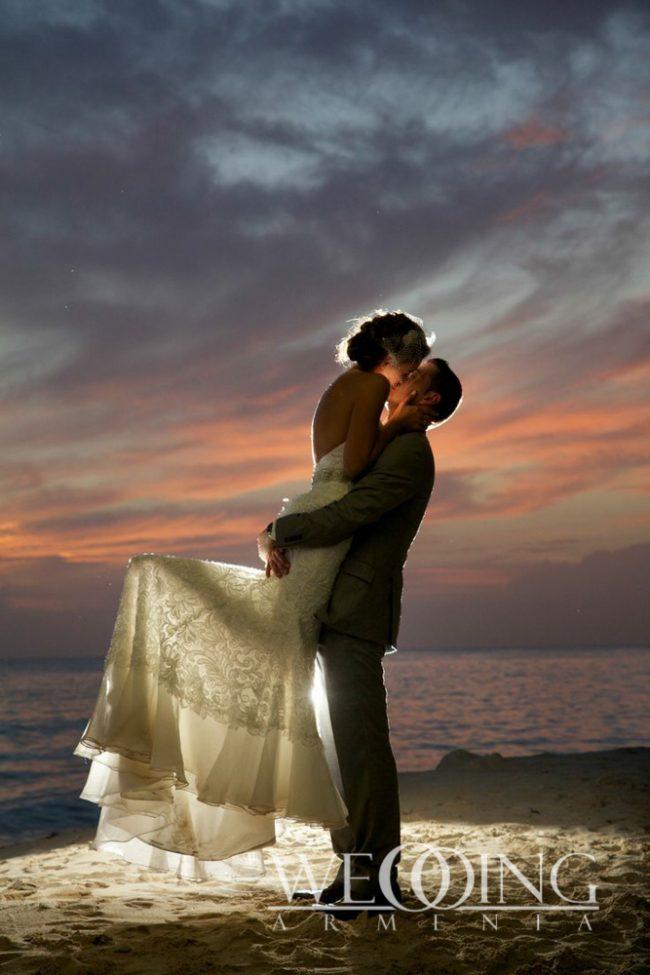 Свадьба на берегу и на пляже Wedding Armenia