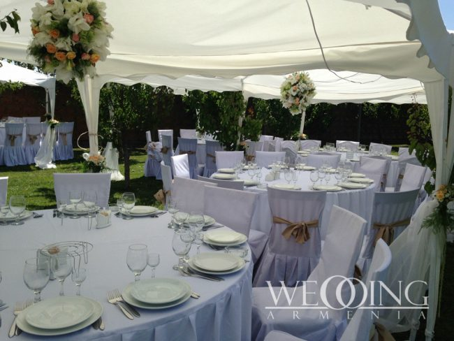 Свадебная церемония под открытым небом Wedding Armenia