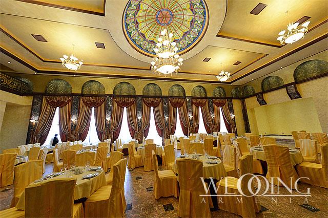 Հարսանիք հյուրանոցային համալիրում Հայաստանում