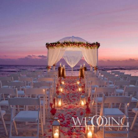 Свадьба на побережье в Армении