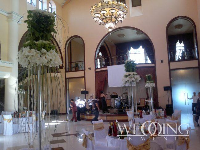 Свадьба в ресторане или банкетном зале в Армении