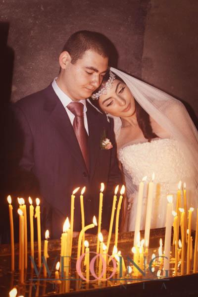 Wedding Armenia Հարսանիք Պսակադրություն եկեղեցում
