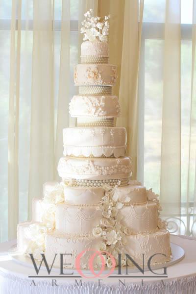 Wedding Armenia Հարսանեկան տորթեր Հայաստանում