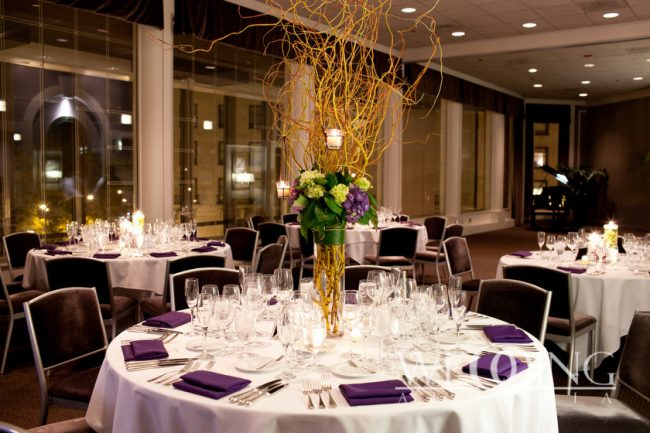 Banquet hall for the wedding